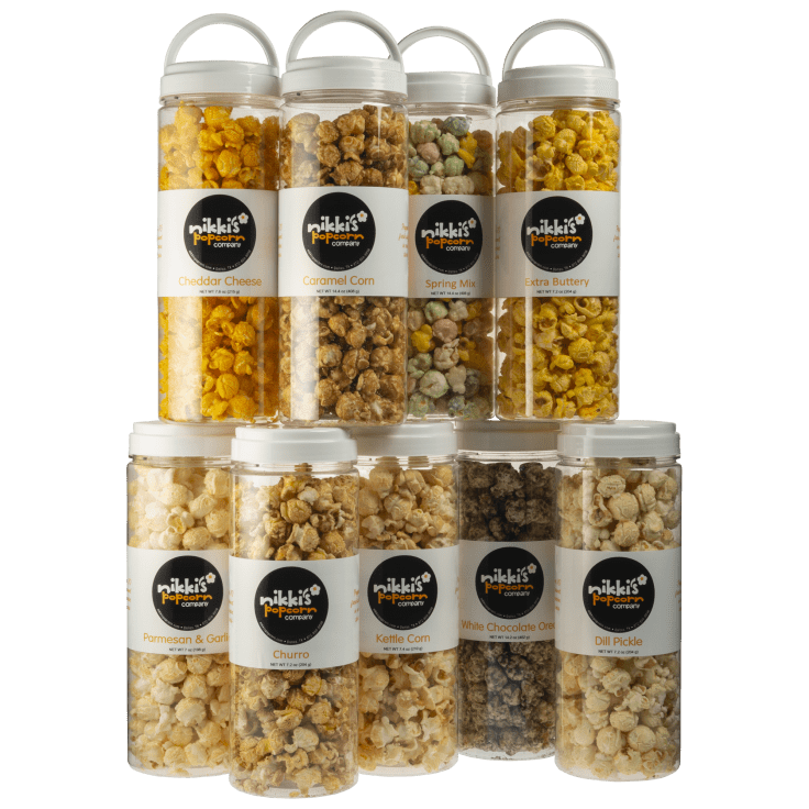 Large Jar Popcorn