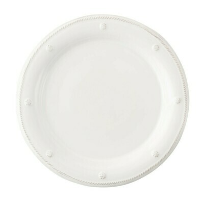 B&T Dinner Plate White #JDR/W