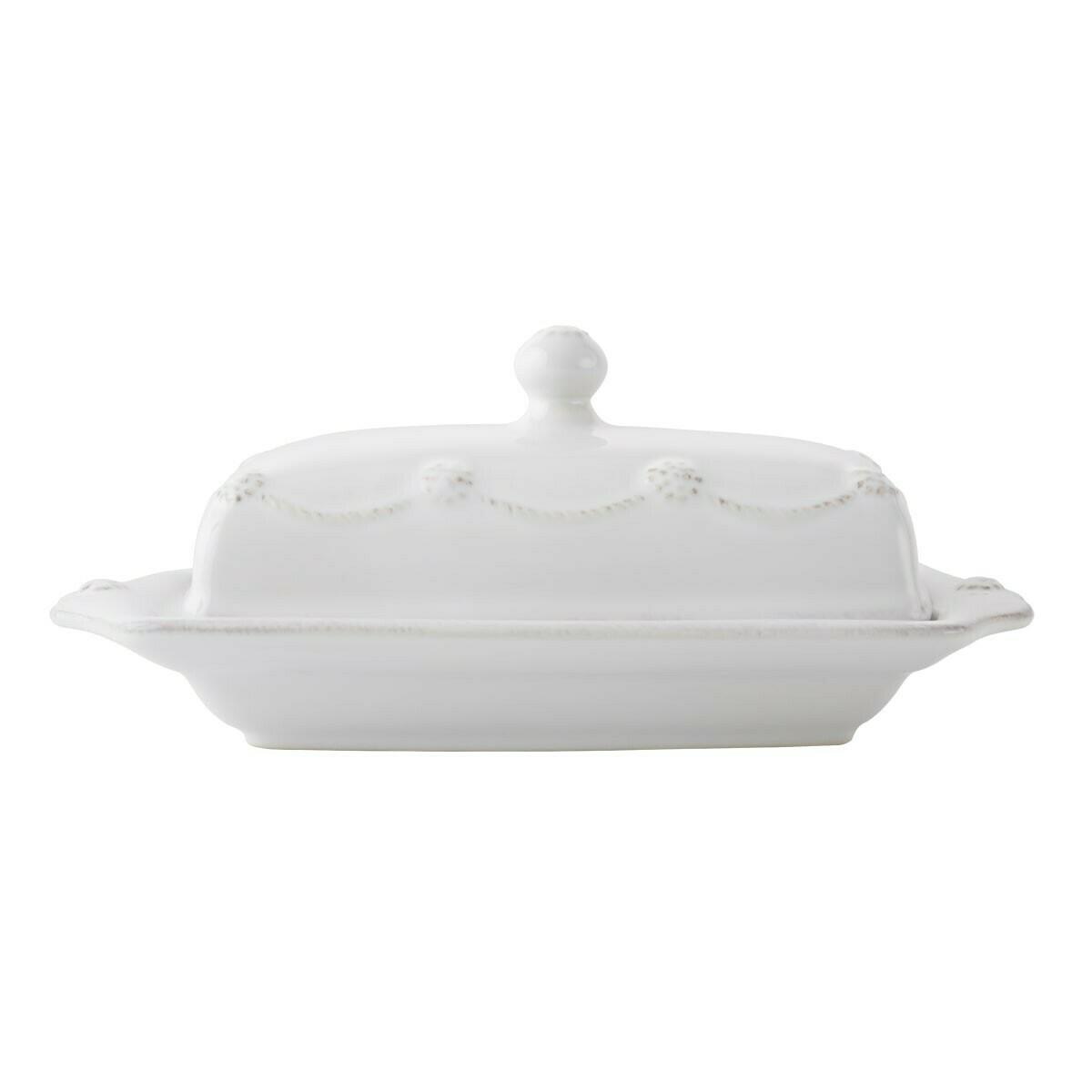 Butter Dish B&T White JA29