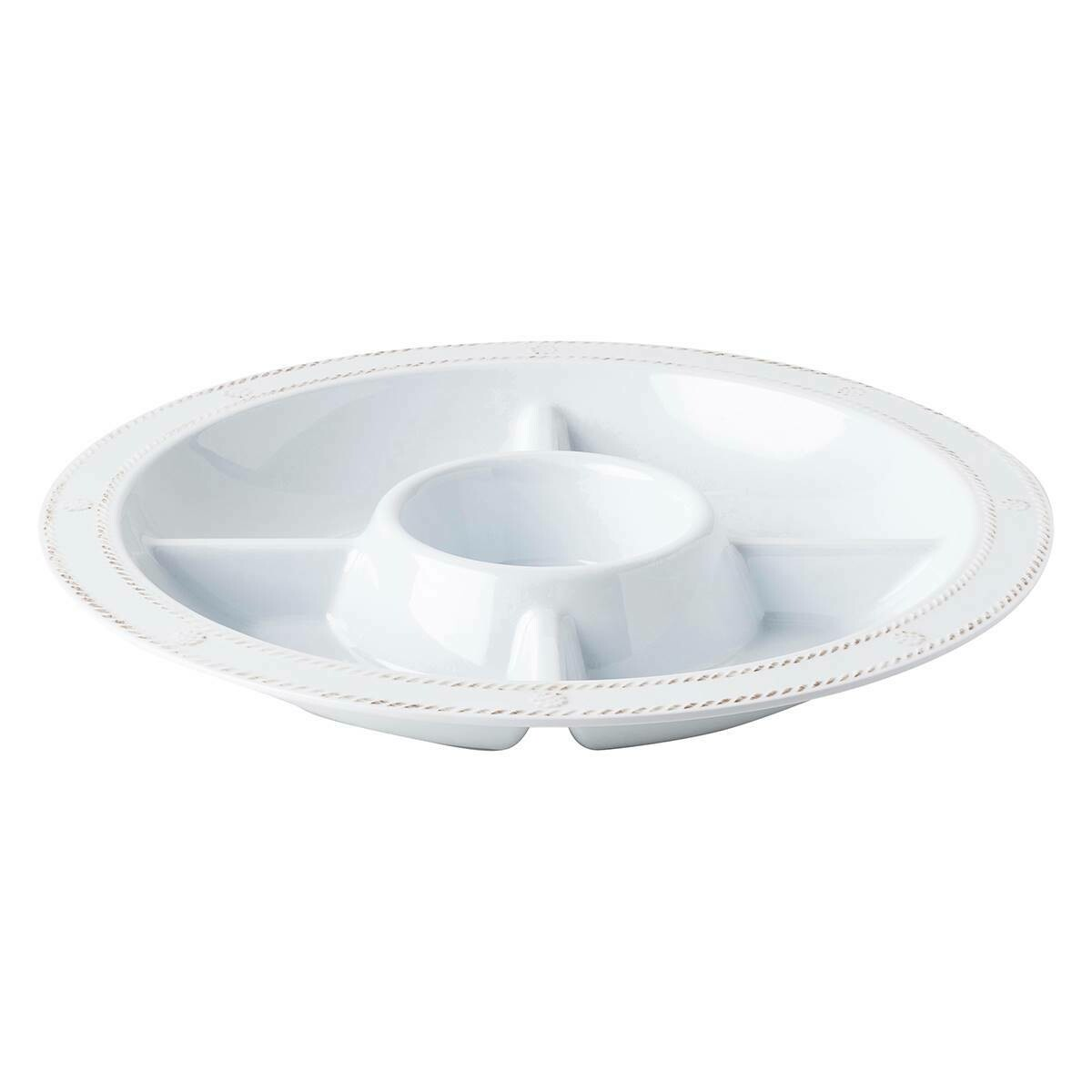 "B&T Melamine 15"" Sectioned Server #MA06/100"