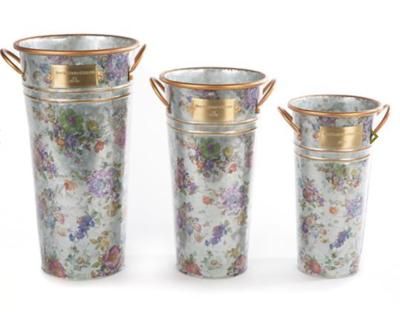 Flower Market Buckets - Set of 3