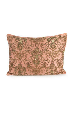 Doges Palace Lumbar Pillow Rose