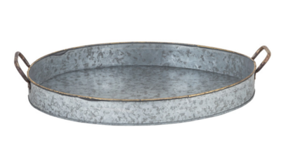 40115 Oval Handled Deep Tray