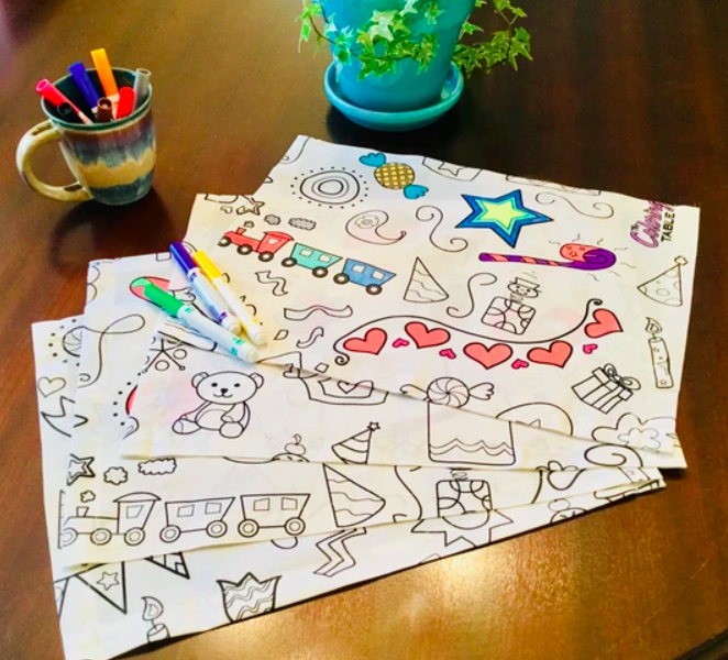 4 Pack Placemats