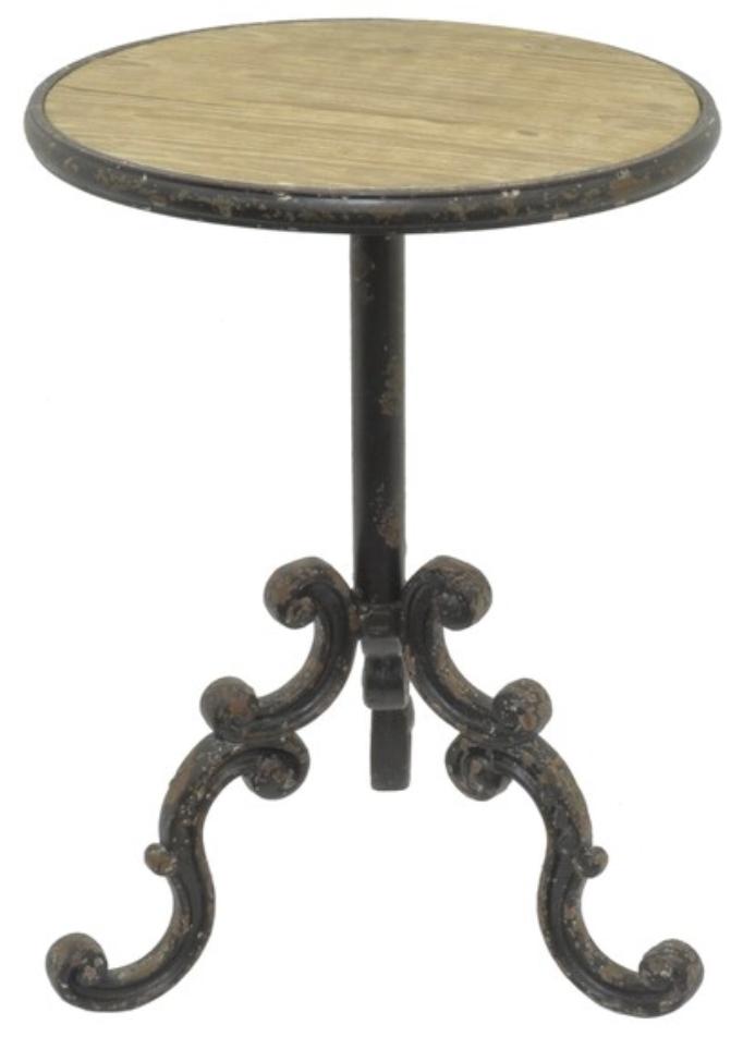 Metal/Wood Table #37693