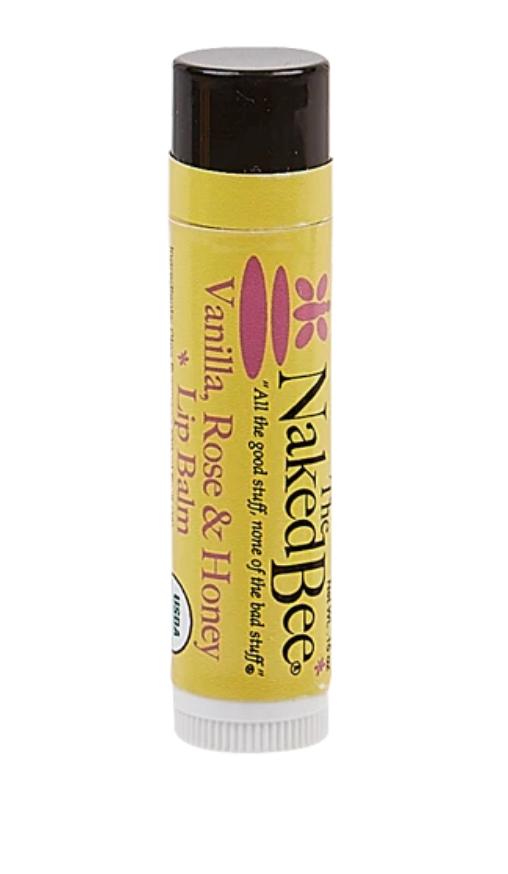 Vanilla, Rose & Honey Organic Lip Balm