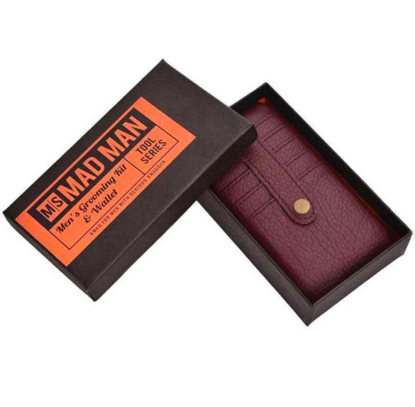 Men's Grooming Kit and Wallet