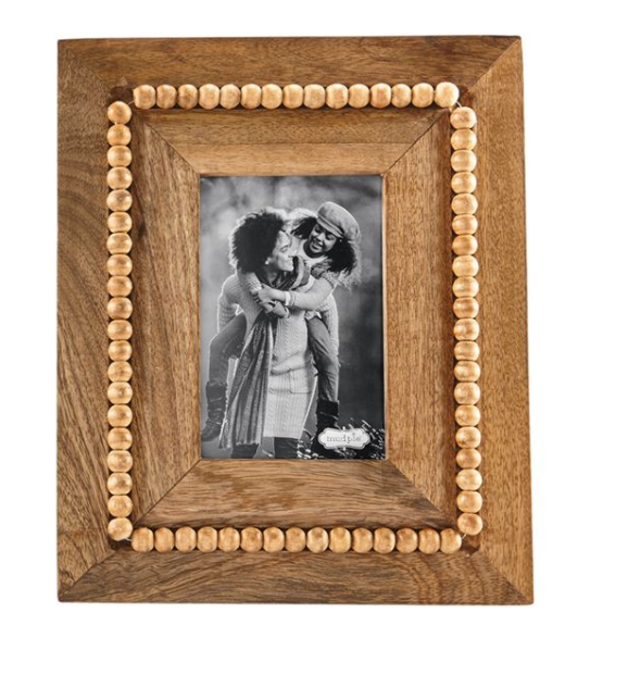 Rectangle Beaded Wood Frame #46900235R