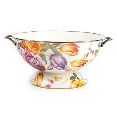Flower Market Everything Bowl - White