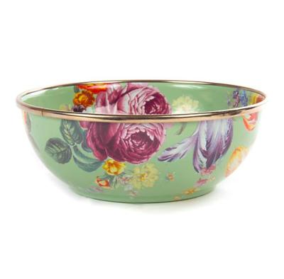 flower market everyday bowl- green