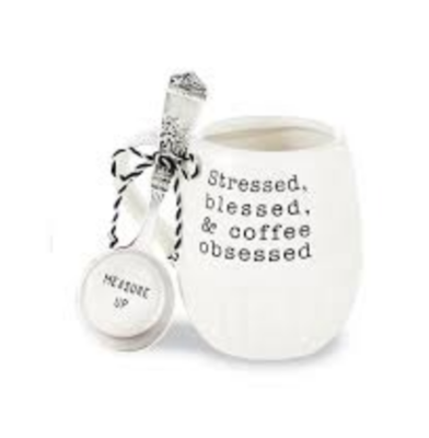 Stressed Coffee Mug Set #43500043S
