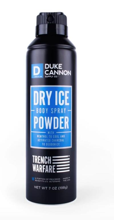 Dry Ice Body Spray Powder