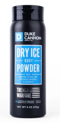 Dry Ice Body Powder