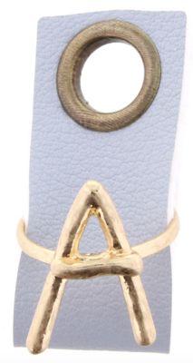 Initial Adjustable Ring