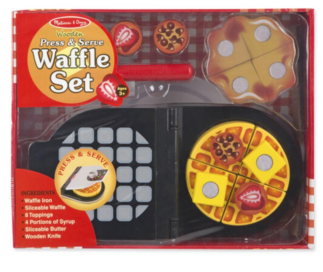 Press/Serve Waffle Set #9346