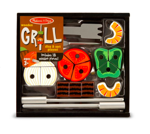 Grill Slice & Sort Playset #4024