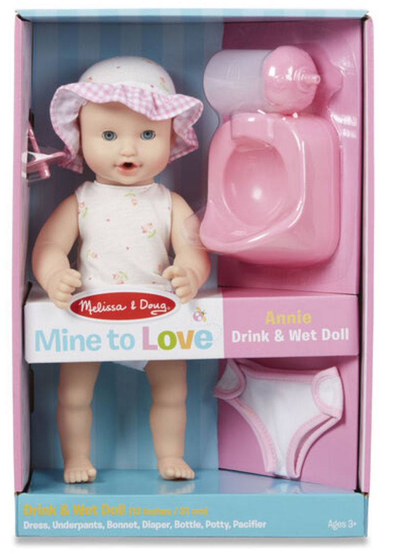 Drink/Wet Doll - Annie #4880