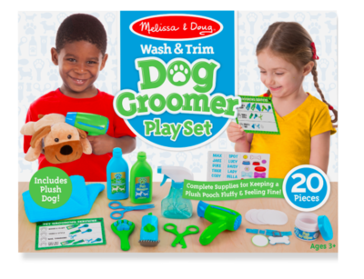 Wash & Trim Dog Grooming Play Set #8568