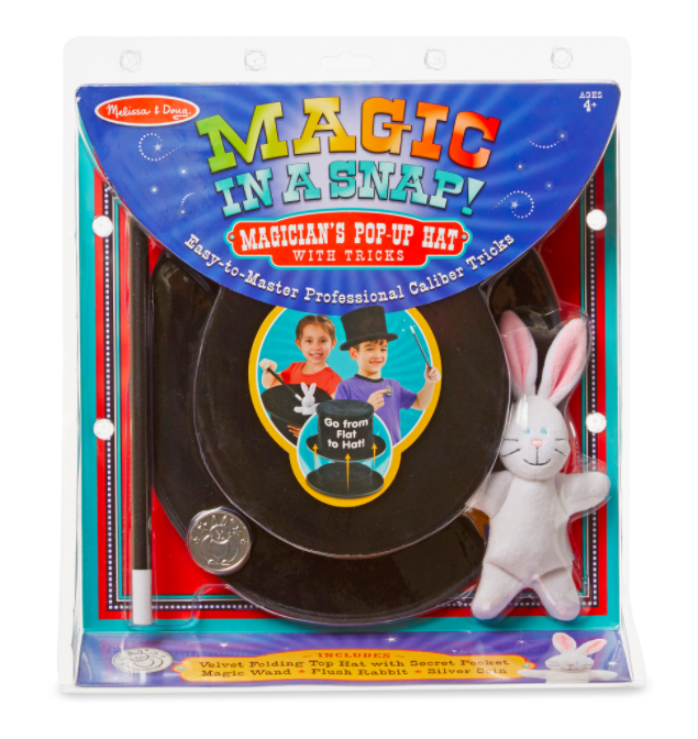 Magic in a Snap - Magician's Pop-Up Hat #4042