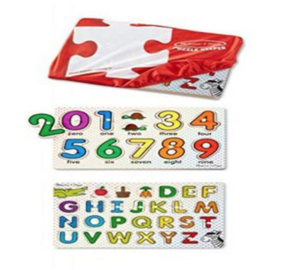 Puzzle Keeper - ABC/123