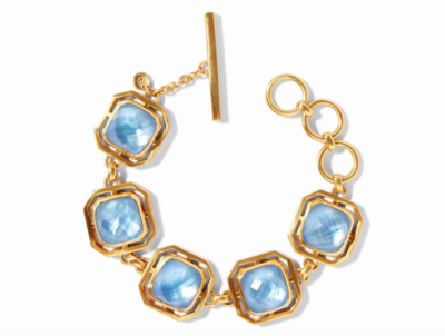 BL132GICA00 - Geneva Bracelet Chalcedony Blue