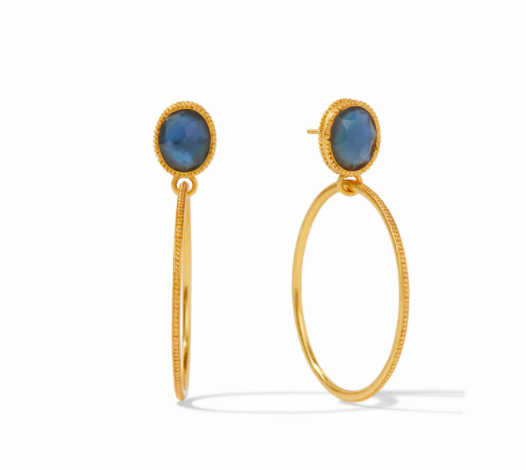 ER593GIAB00 Verona Earrings Azure Blue