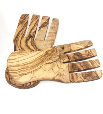 Olive Wood Hand Servers