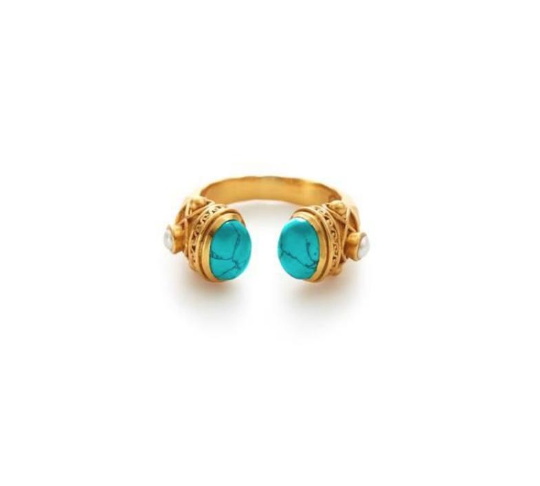 Savanah Ring 8/9 Turquoise Blue - r121gtupl