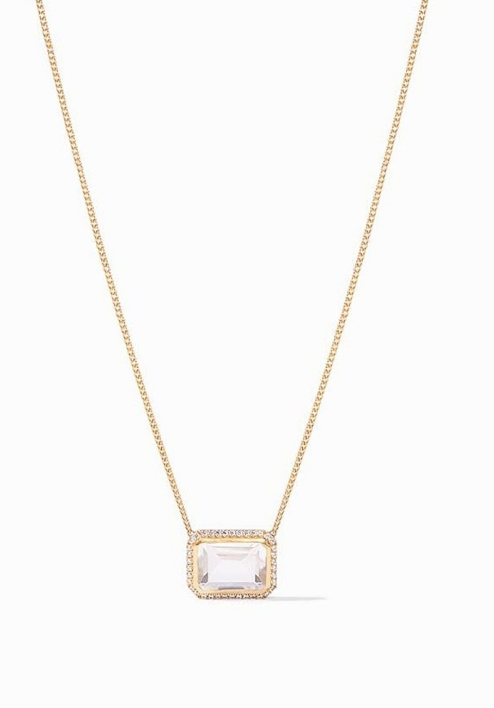 N345GRC00 Clara Necklace Clear Crystal