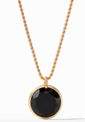 P153GBO00 Coin Statement Pendant Black Onyx