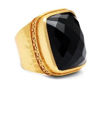 Catalina Statement Ring Black