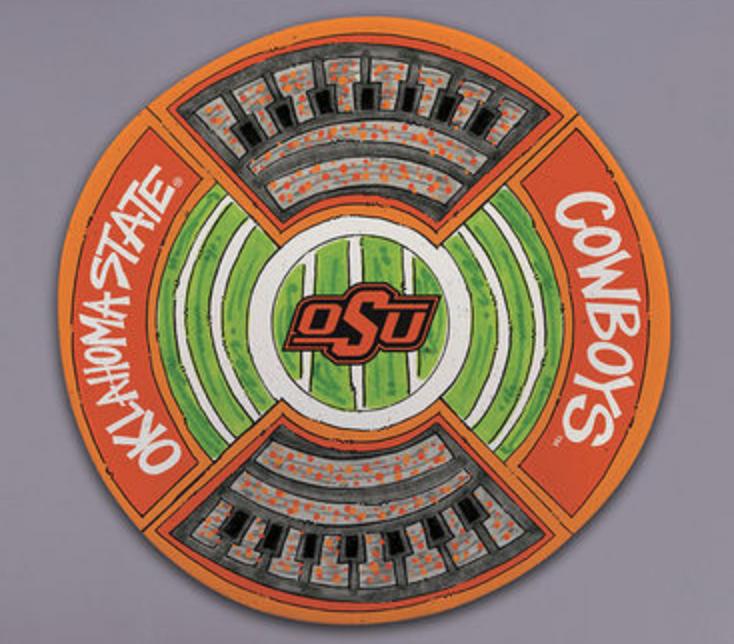 Round Stadium Platter