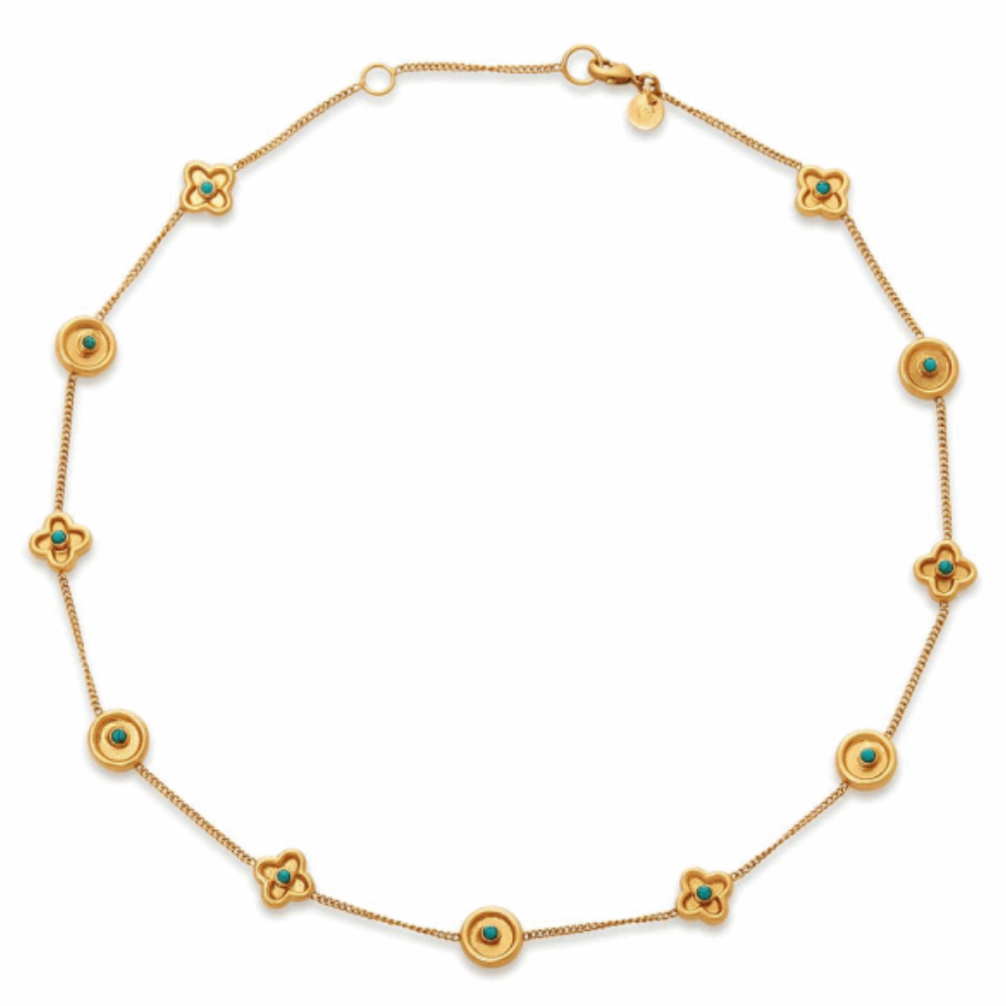 N310GTU00 Daphne Turquoise Necklace