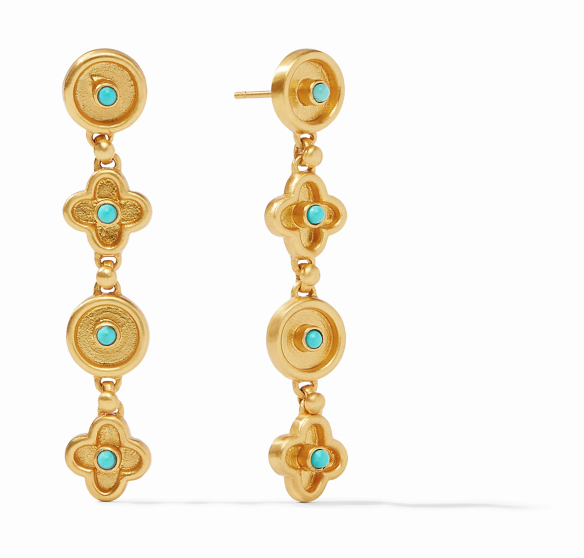 ER562GTU00 Daphne Turquoise Earrings