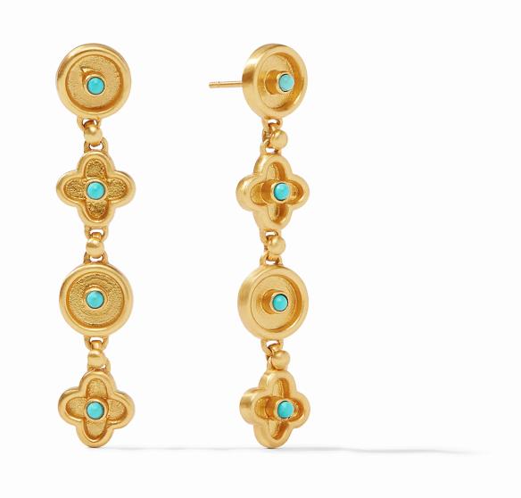 ER562GTU00 Daphne Turquoise Earrings