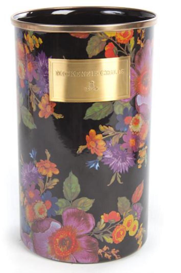 Flower Market Utensil Holder - Black