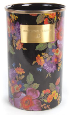 Flower Market Utensil Holder - Black