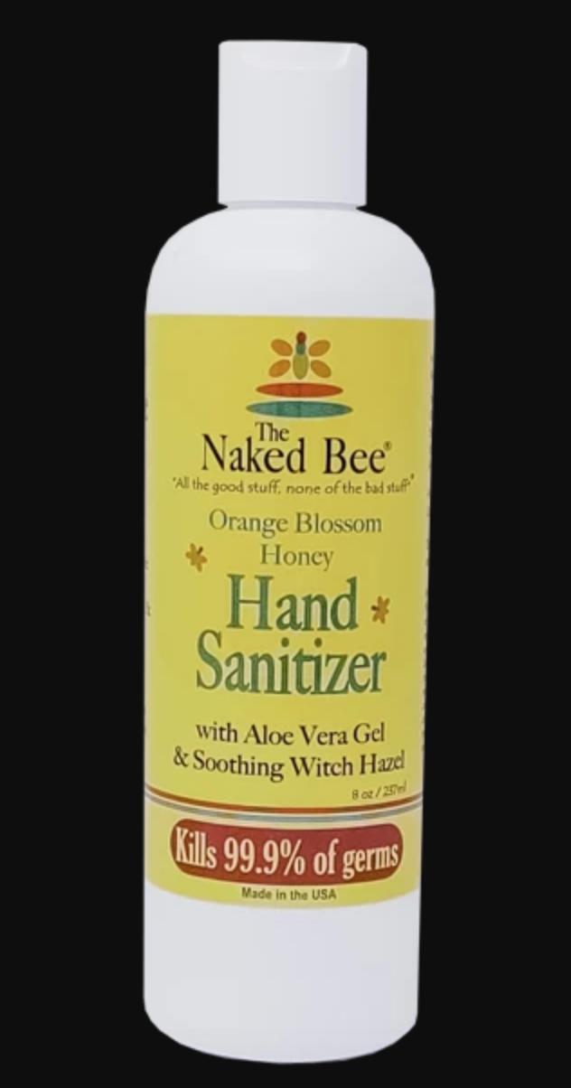 Orange Blossom Hand Sanitizer 8oz