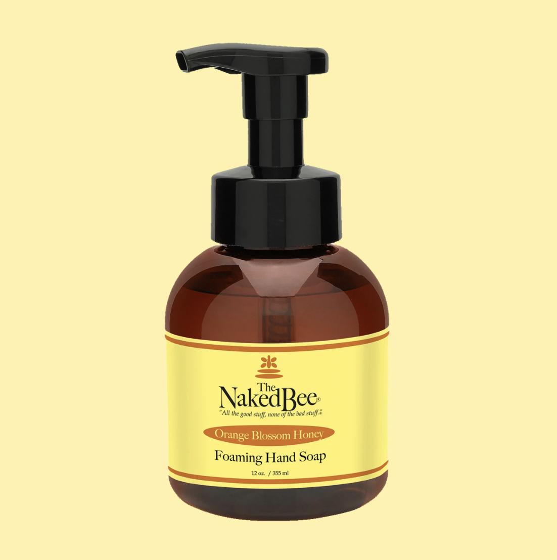 Foaming Hand Wash Orange Blossom Honey 12oz #NBFS-O