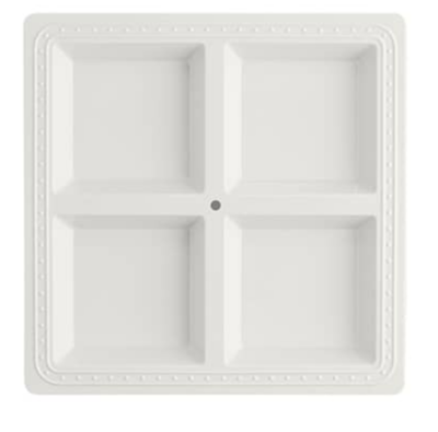 Square Melamine Sectional Server #MEL01