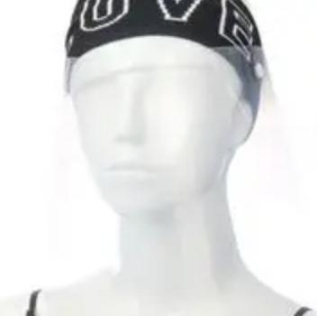 LOVE Headband Face Guard