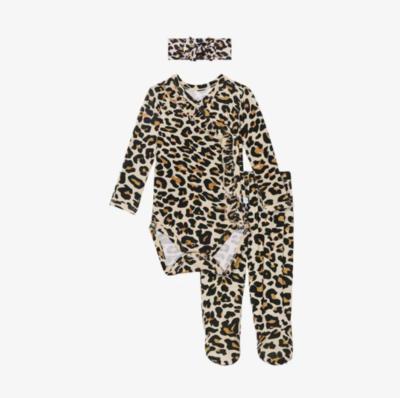 Lana Leopard - Ruffled Kimono Set