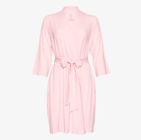 Pink Heather - Mommy Robe