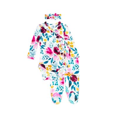 Jozie - Ruffled Kimono Set