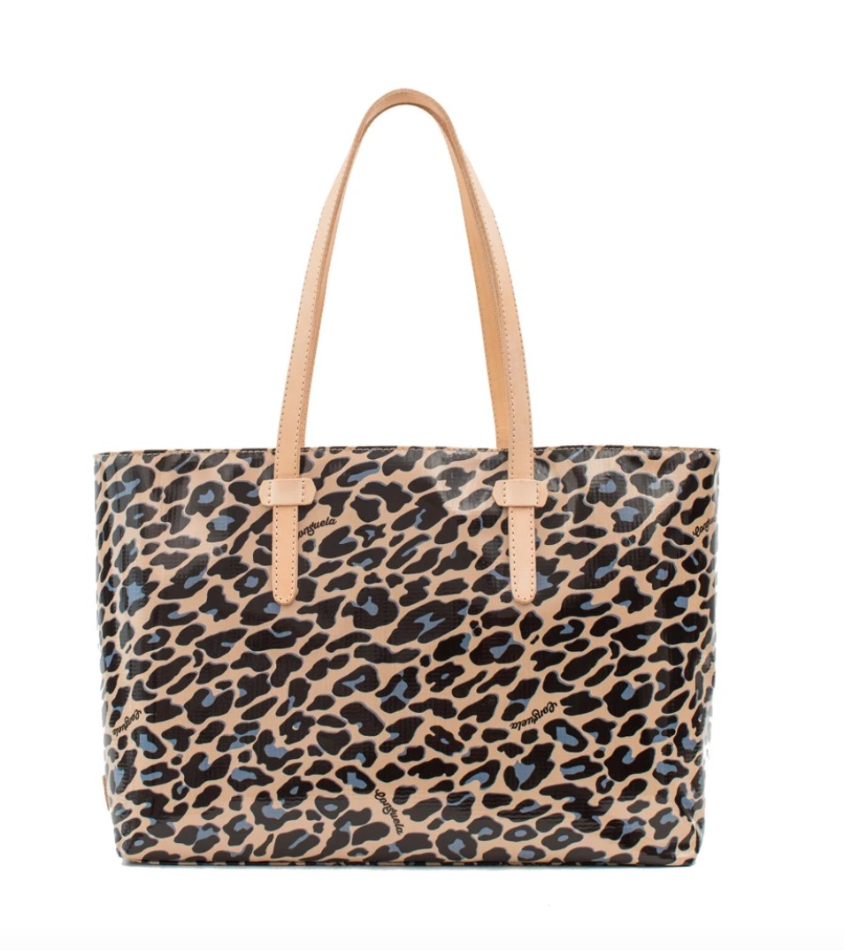 East West Tote Blue Jag