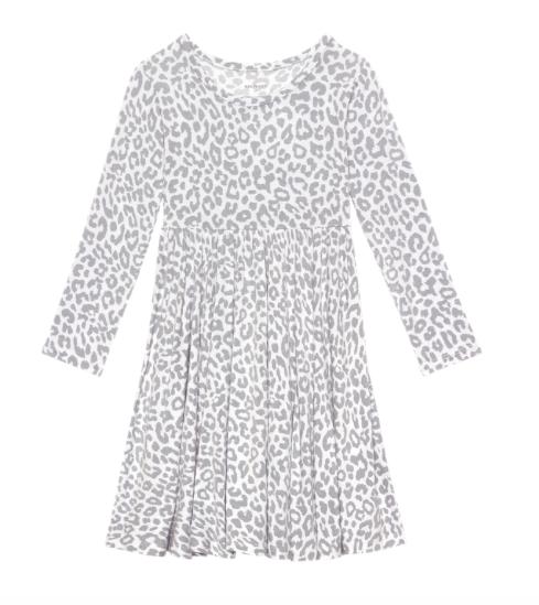 Minka - Long Sleeve Twirl Dress