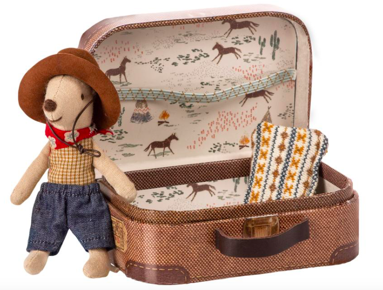 Cowboy in a Suitcase - Little Brother Mouse