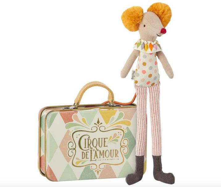 Circus Mouse/ Stilt Clown