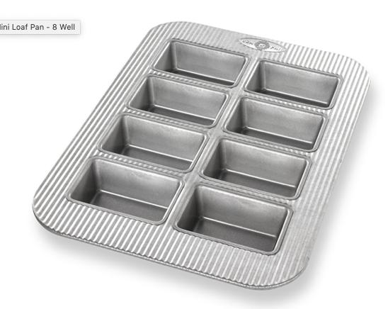 USA Mini Loaf Panel Pan $1225MF-6