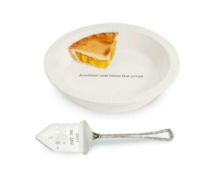 Circa Pie Plate With Server #42600384